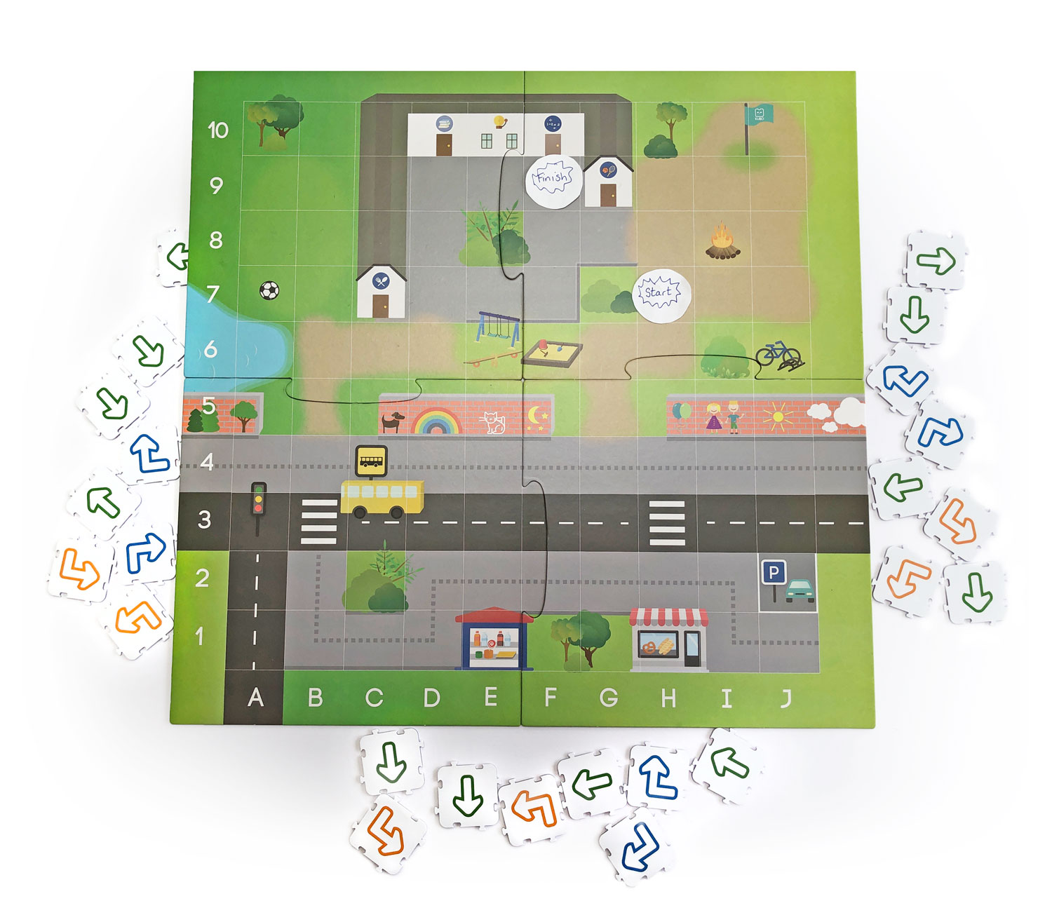 KUBO Back to school activity map