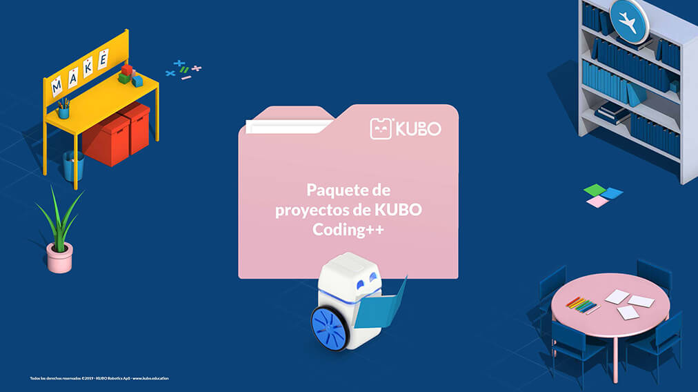 KUBO Coding++ Project Pack - ES